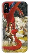 Everquest Abraxsis Keith Parkinson IPhone Case