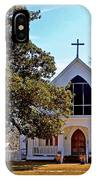 Fairhope Sacred Heart Church IPhone Case
