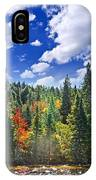 Fall Forest In Sunshine IPhone Case
