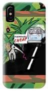 Fantasy Animals Catch A Bus IPhone Case
