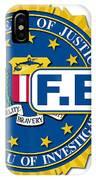 Fbi Seal Mockup IPhone Case