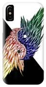 Feathered Ying Yang  IPhone Case