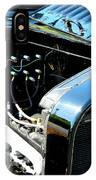 Female View At A Car Show IPhone Case