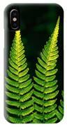 Fern Close-up Nature Patterns IPhone Case