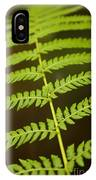 Fern Pattern IPhone Case