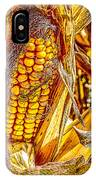 Field Corn Ready For Harvest IPhone Case