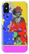 Film Homage Ann-margret Collage Train Robbers 1973 The Great White Hope Globe Arizona 1969 IPhone Case