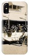 Film Homage Newsreel Cameraman The Great White Hope Set Globe Arizona 1969-2008 IPhone Case