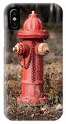 Fire Hydrant #16 IPhone Case