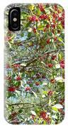 Firethorn Tree IPhone Case