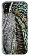 Fish Netting Husavik Iceland 3755 IPhone Case