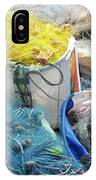 Fishing Industry In Limmasol IPhone Case