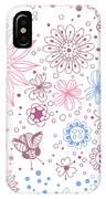 Floral Doodles IPhone Case