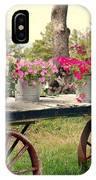 Flower Wagon IPhone Case