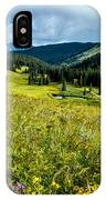 Flowering Colorado Mountain Meadow IPhone Case
