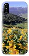 Spring In The Mountains IPhone Case
