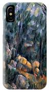 Forest In The Caves Above The Chateau Noir IPhone Case