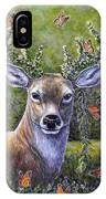 Forest Monarch IPhone Case
