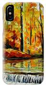 Forest Stream IPhone Case
