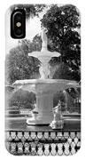 Forsyth Fountain Park IPhone Case