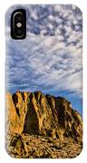 Fort Rock North Wall IPhone Case