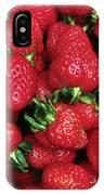 Fresh Strawberries IPhone Case