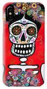 Frida Dia De Los Muertos IPhone Case