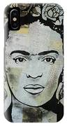 Frida Kahlo Press IPhone Case