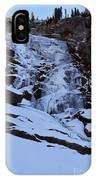 Frozen Tokopah Falls IPhone Case