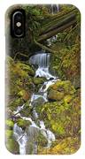 Streaming Through Rainforest Rubble IPhone Case
