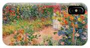Garden At Giverny IPhone Case