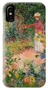 Garden At Giverny IPhone X Case