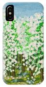 Garden In Blossom IPhone Case