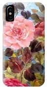 Garden Party/portion  IPhone Case