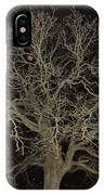 Ghostly  Tree IPhone Case