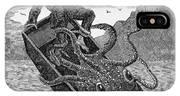 Giant Squid, 1879 IPhone Case