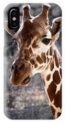 Giraffe Head IPhone Case