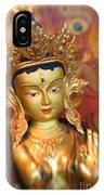 Golden Sculpture IPhone Case
