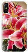 Graceful Lily Series 13 IPhone Case