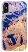 Grand Canyon Sunny Day With Blue Sky IPhone Case