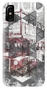 Graphic Art London Streetscene IPhone Case