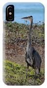 Great Blue Heron - 12 IPhone Case