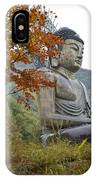 Great Buddha In Autumn IPhone Case