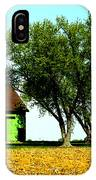 Green Barn  IPhone Case