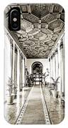 Hallway Of Elegance IPhone Case