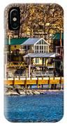 Hammondsport Docks IPhone Case