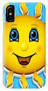 Happy Smiling Sun IPhone Case