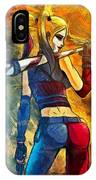 Harley Quinn Spicy - Van Gogh Style IPhone Case