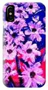 Sunset With Flowers IPhone Case