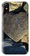 Heart Shaped Stone Loch Fyne  IPhone Case